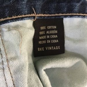 "BKE Jeans - Men's BKE ""Vintage"" Mechanic Blue Jeans 34R"